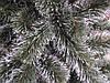 Ёлка искусственная (ель) 1.5 метра, кончик иголки в снегу, пушистый ствол на подставке, фото 3
