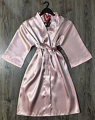 Жіночий халат без мережива