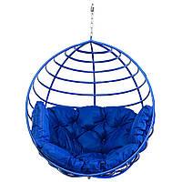 Кресло-кокон  Aurora-S150 кг Синее