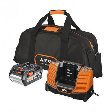 Аккумуляторный набор (аккумулятор L1840 4.0А/ч 18В; зарядное устройство BL1218 80хв; сумка), фото 2