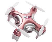 Квадрокоптер нано р/у Cheerson CX-10WD-TX с камерой Wi-Fi (розовый), фото 1