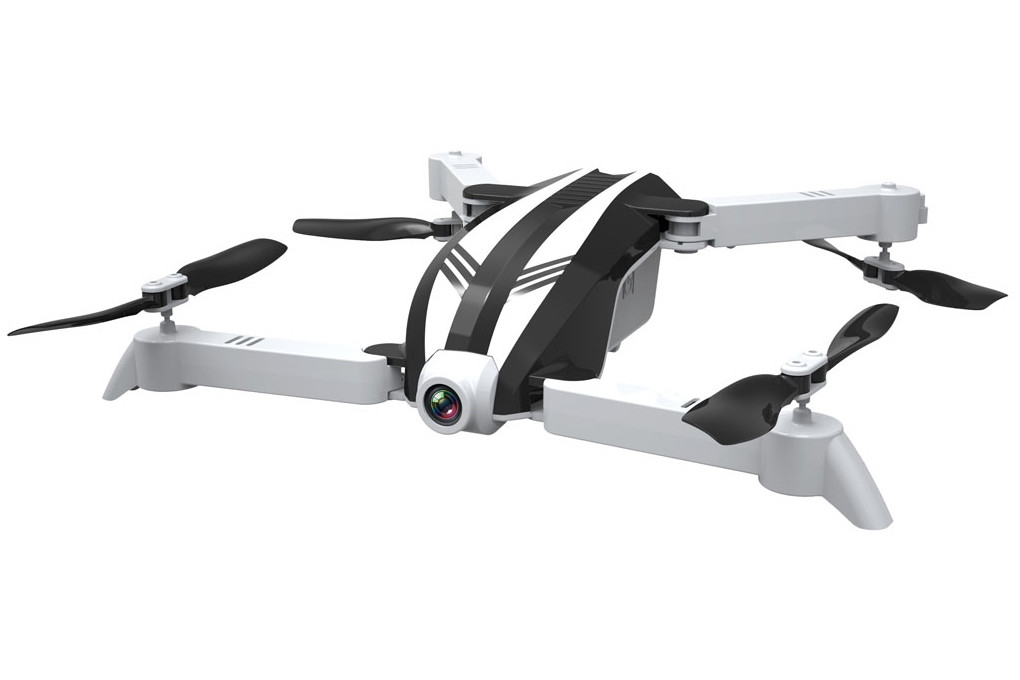 Квадрокоптер Helicute H821HW Zubo с камерой Wi-Fi складной