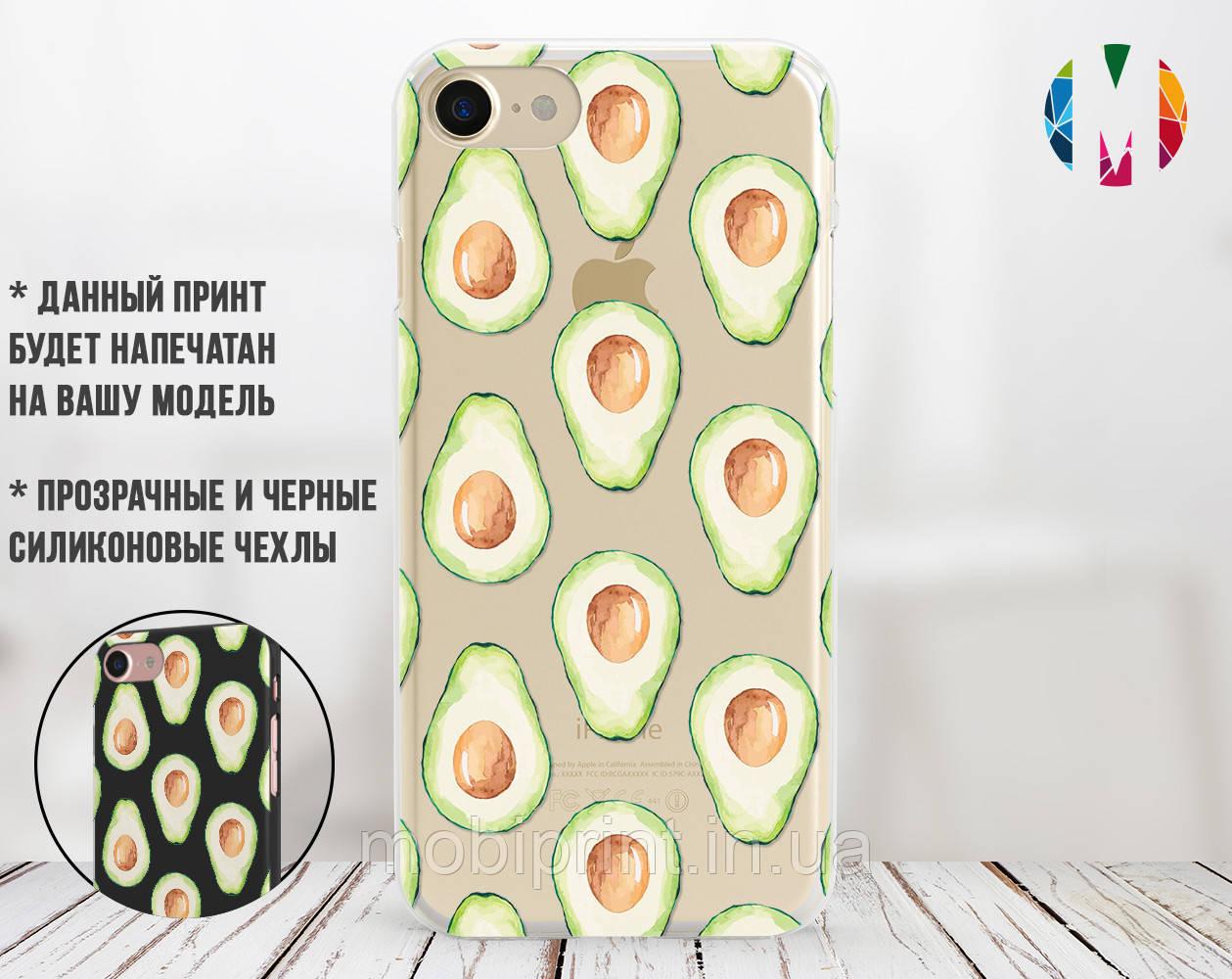 Силіконовий чохол Авокадо (Avocado) для Samsung A307 Galaxy A30s