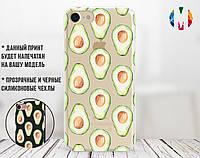 Силиконовый чехол Авокадо (Avocado) для Samsung A307 Galaxy A30s