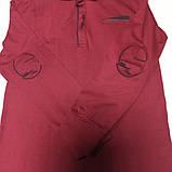 Рубашка модная красивая нарядная трикотажная для мальчика. Стильная и оригинальная. Цвет- бордо., фото 2