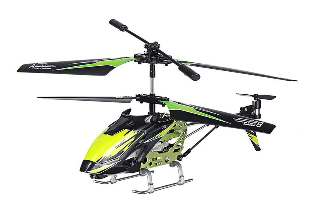 Вертолёт на радиоуправлении 3-к WL Toys S929 с автопилотом (зеленый)