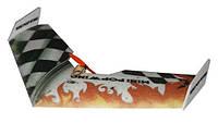 Летающее крыло TechOne Mini Popwing 600мм EPP ARF (черный), фото 1