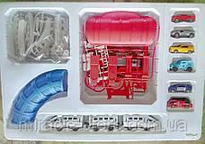 Железная дорога с транспортом и аксессуарами 888-6, фото 3