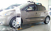 Молдинги дверей Peugeot 208