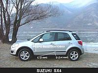 Молдинги дверей Suzuki SX4