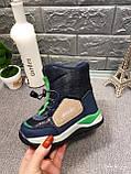 Зимние сапоги для мальчика Tom.m Синий р. 28 (18 см), фото 2