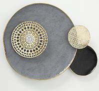 Настенный декор Jamila 100*75*8 см металл  1017613