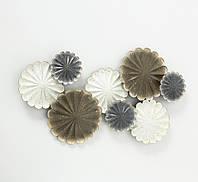 Настенный декор Гинкго W 90 см, L 6 см, H 49 см металл  1020116
