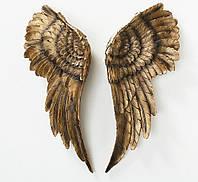 Настенный декор Крылья ангел комплект, W 6 см, L 22 см полистоун  2001147
