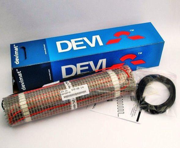 Нагревательный мат DEVI 150T 3,0 м2 Теплые полы