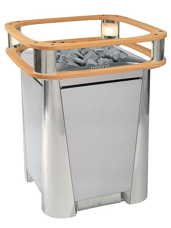 Электрокаменка Harvia Elegance F 10,5 кВт вес камней 60 кг парная 18 м.куб