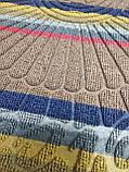 Коврик придверный Multicolor 40х60см светло-коричневый, фото 3