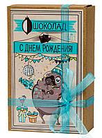Шоколад «Крафт-Мопс З днем народження» 029
