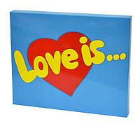 Підсвічник ліхтар сердечко һ14см кремовий метал 4053800-1 серце