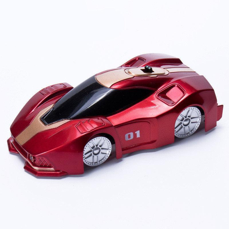 Машинка которая ездит по стенам и потолку CLIMBER WALL RACER  (RZ019)