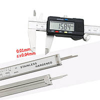 Электронный штангенциркуль 150 мм с LCD дисплеем! Акция