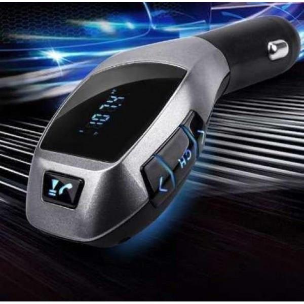 Автомобильный FM модулятор трансмиттер HZ с Bluetooth H20BT  (RZ069)