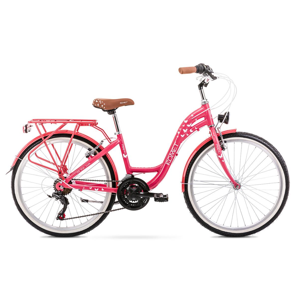 Велосипед ROMET 20 Panda 1.0 Pink 13S
