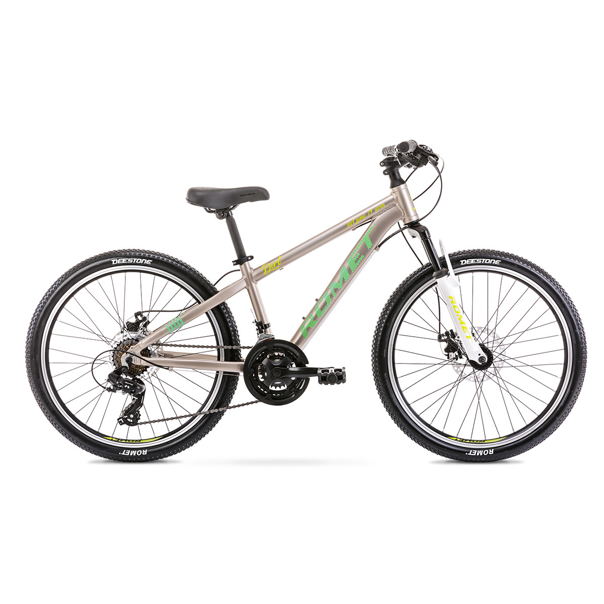 Велосипед ROMET 20 Rambler Dirt 24 Grey-Green 12 S