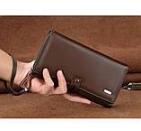Мужские кошельки-клатчи с удобной ручкой, фото 2
