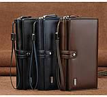 Мужские кошельки-клатчи с удобной ручкой, фото 6