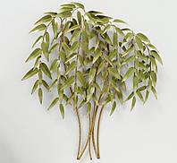 Настенный декор дерево Бамбук W 88 см, L 10 см, Н 92 см металл  1021529