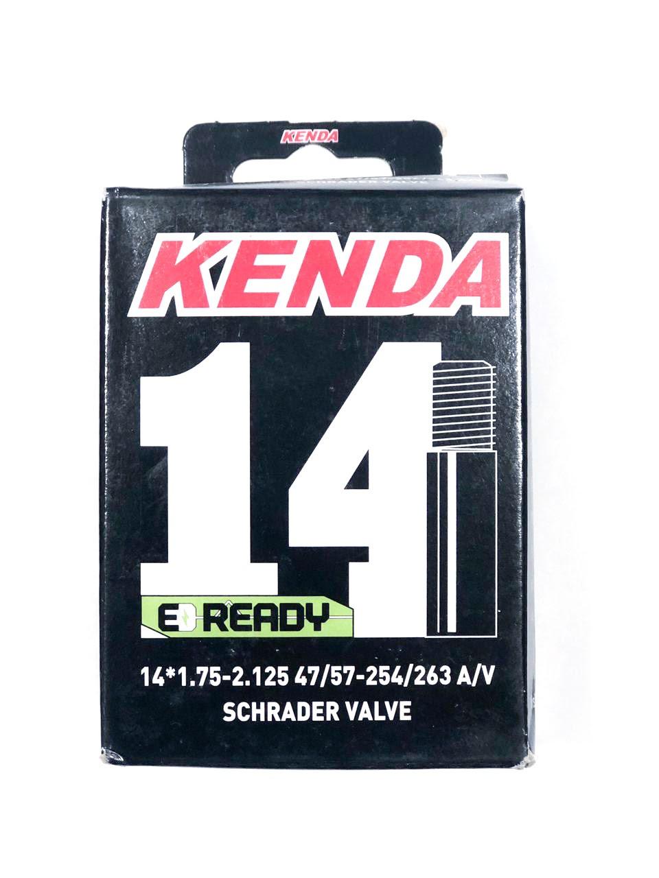 """Камера для велосипеда KENDA 14"""" x 1.75""""-2.125"""", 47/57-254/263, A/V"""