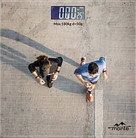 Весы напольные Monte MT-6012-4  (RZ446)