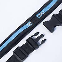 Спортивная сумка для бега поясная сумка для телефона водонепроницаемая велосипедная для улицы синий  (RZ472)