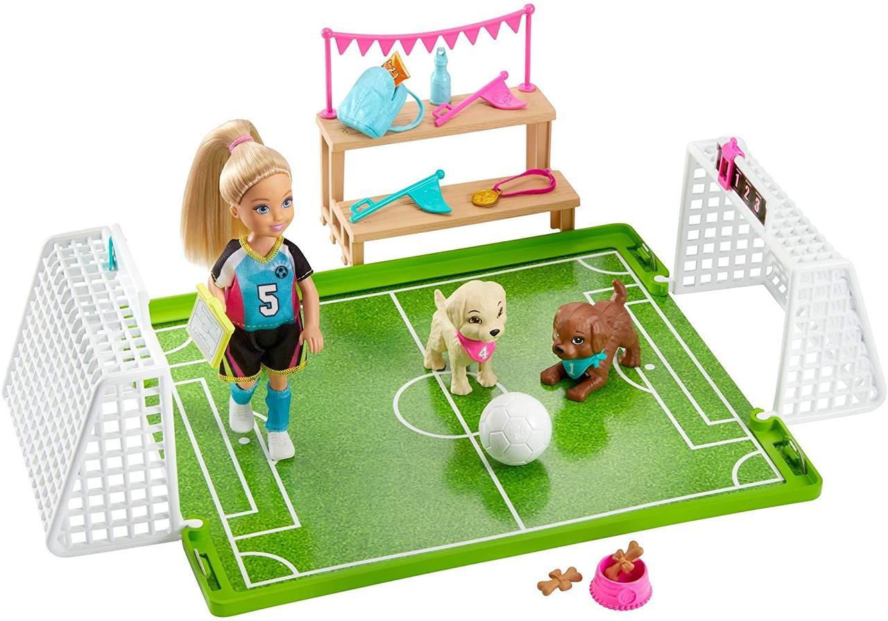 Игровой набор Барби Челси Игра в футбол