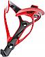 Велосипедний тримач для фляги ROMET пласт. CL-110 red blk, фото 2