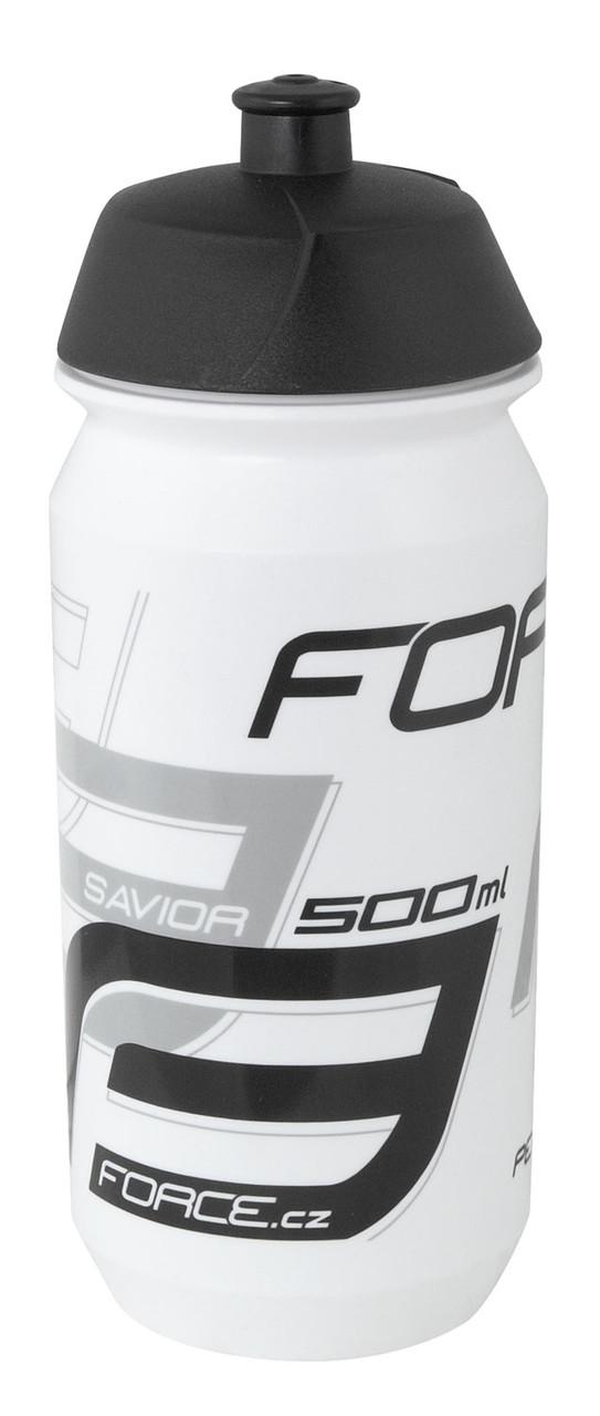 Фляга FORCE SAVIOR 0,5л. (wht/blk)