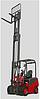 Автопогрузчик электрический  вилочный ДТЗ АВЭ25Т-6,5К (грузоподъемность 2,5т, высота подъема 6,5м)