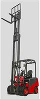 Автопогрузчик электрический  вилочный ДТЗ АВЭ25Т-6,5К (грузоподъемность 2,5т, высота подъема 6,5м), фото 1