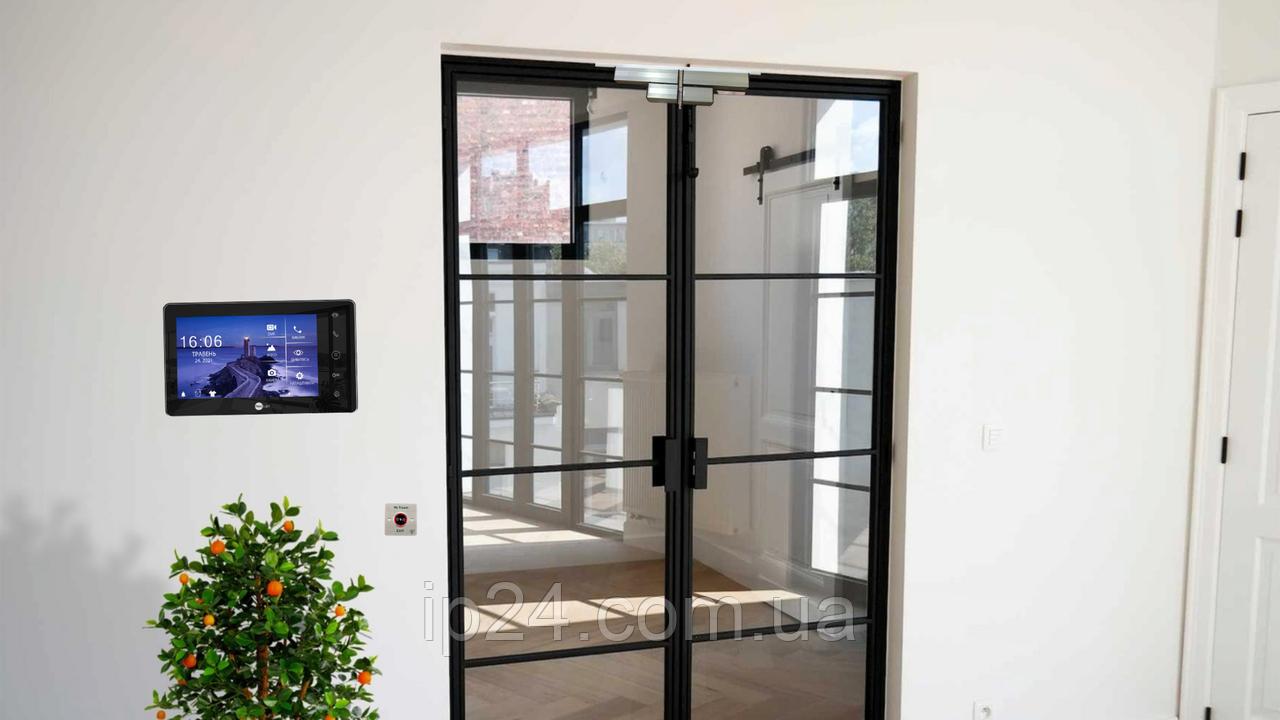 Установка замков на стеклянные двери