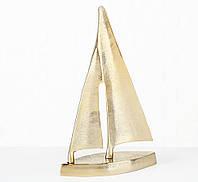 Декоративный Парусник алюминий золото 21*32 см Boltze 1019867, фото 1