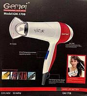 Фен для сушки волос Gemei GM-1708 1300W  (RZ596)