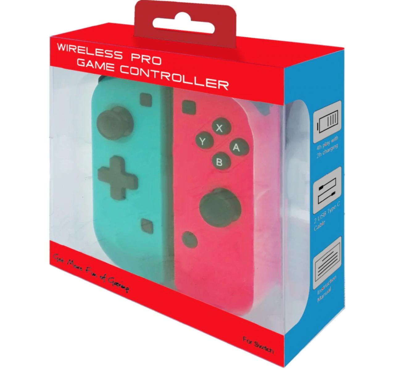 Игровые контроллеры iPlay с крестовиной Joy-Con Nintendo Switch Red/Blue