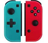 Игровые контроллеры iPlay с крестовиной Joy-Con Nintendo Switch Red/Blue, фото 2