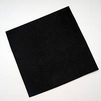 Черная замша на пленке ПВХ (самоклеющаяся)