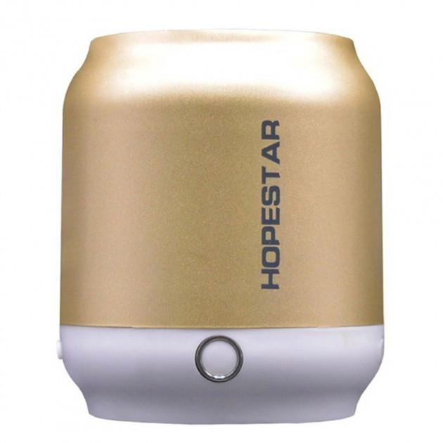 Портативная беспроводная Bluetooth колонка Hopestar H8 Золотой  (RZ631)
