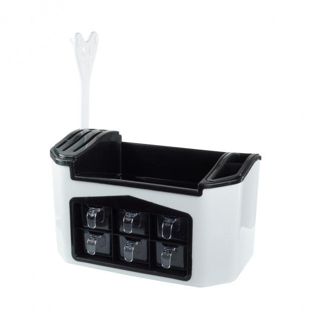 Многофункциональный органайзер для хранения кухонных приборов и специй Supretto  (RZ661)