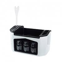 Многофункциональный органайзер для хранения кухонных приборов и специй Supretto  (RZ661), фото 1