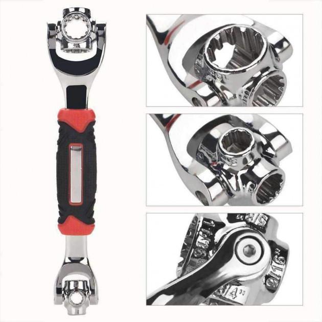Универсальный ключ вращение 360 градусов Universal Wrench 48в1  (RZ670)