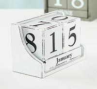 Настольный вечный календарь МДФ 17x11x9см  8417700, фото 1